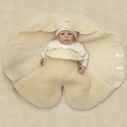 Ull konvolutter for nyfødte