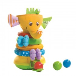 Musical Stack Ball Game Elephant