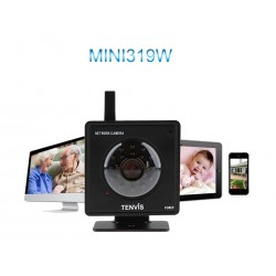 IP Camera MINI 319W - Baby Monitor Night Vision - Svart