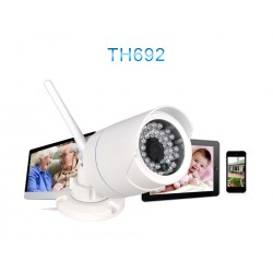 IP camera TH692- Outdoor P2P HD Vanntett-hvit