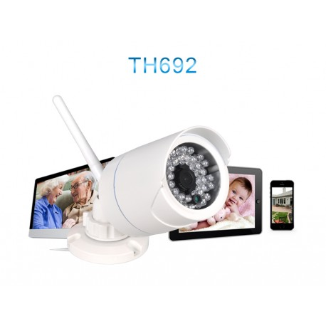 TH692- Outdoor P2P HD Vanntett-hvit