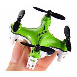Grønn nano RC Quadrocopter Drone 360 Degree Roll 2.2cm