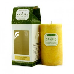 AROMA NATURALS Authentic Aromatherapy Candles - Ambiance (appelsin og sitrongress)