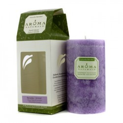 AROMA NATURALS Authentic Aromatherapy Candles - Serenity (ylang ylang og lavendel)