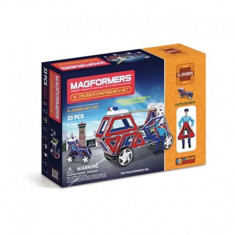 Magformers XL Cruisers Emergency Kit