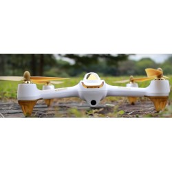HUBSAN X4 FPV BRUSHLESS HVIT H501S (HIGH VERSON)