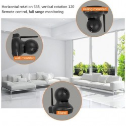 Tenvis T8601D Indoor Wireless Surveillance Camera Full HD IP Wifi - Phone alert